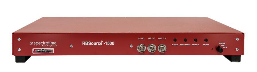 SPECTRATIME Рубидиевый стандарт частоты – RB Source-1500