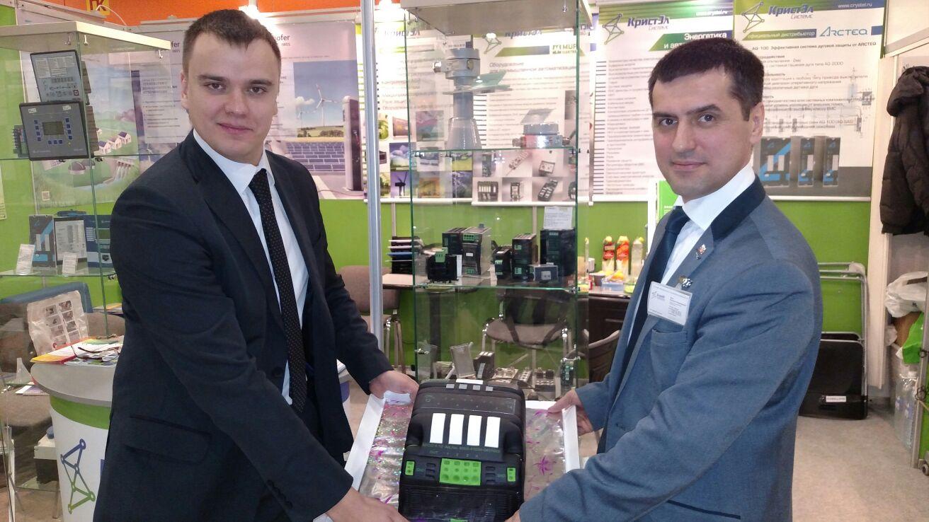 Выставка Электрические сети России 2015 Стенд ГК КристЭл Системс