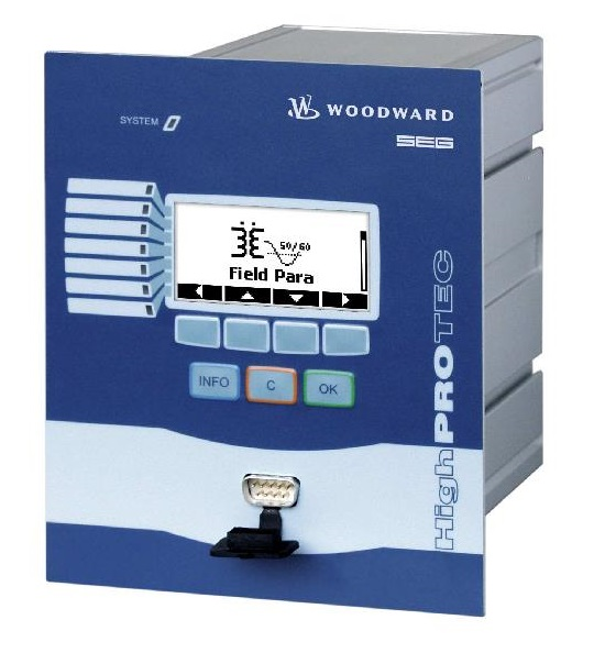 WOODWARD MRU4 реле защит по напряжению и частоте (коды ANSI: 46; 49; 50; 50BF; 50N; 51; 51N; 60FL; 74TC; 79; 86)
