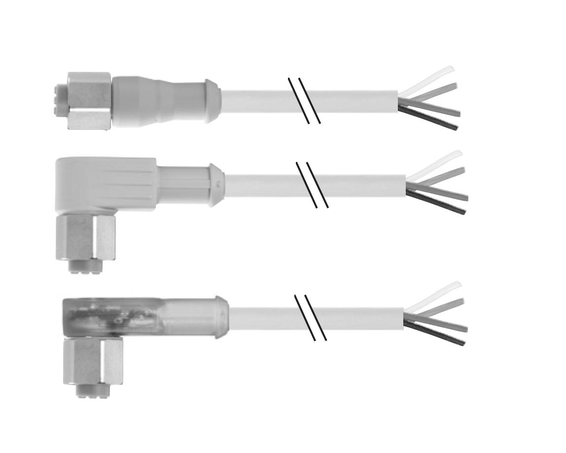 Круглый штекерный соединитель М12 | для пищевой промышленности | Розетка | Murrelektronik