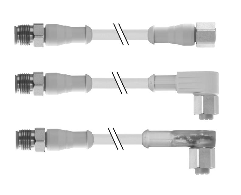 Круглый штекерный соединитель M12   Вилка Розетка   Murrelektronik