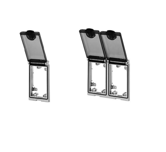 MURRELEKTRONIK Modlink MSDD одинарная и двойная встриваемая рамка