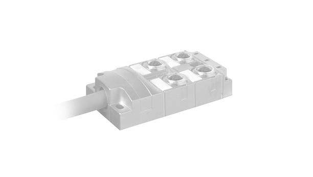 Murrelektronik | Распределительные системы M12 | Для жестких условий | MVP12 Metal UNIVERSAL