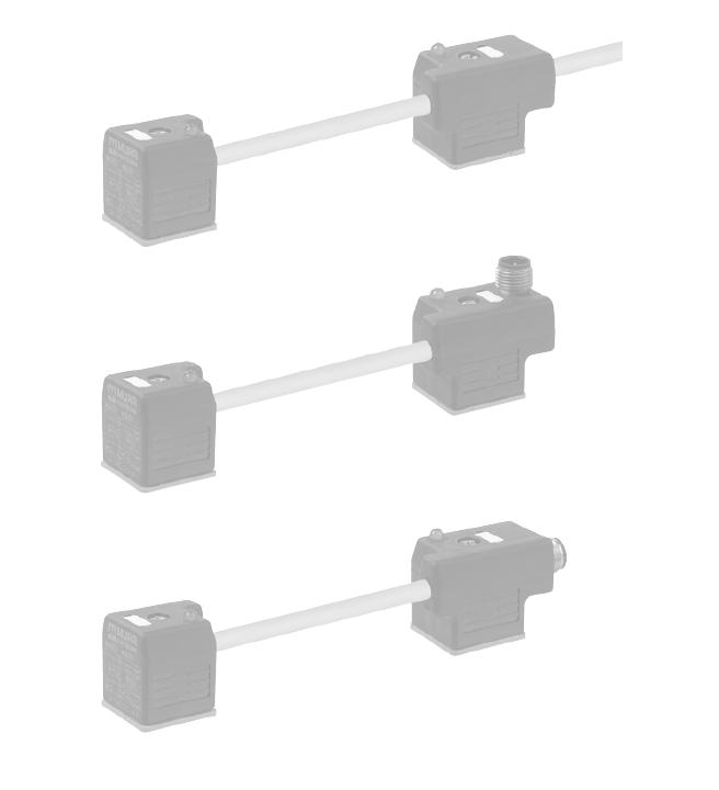 Murrelektronik | Двойные разъемы клапана MSUD