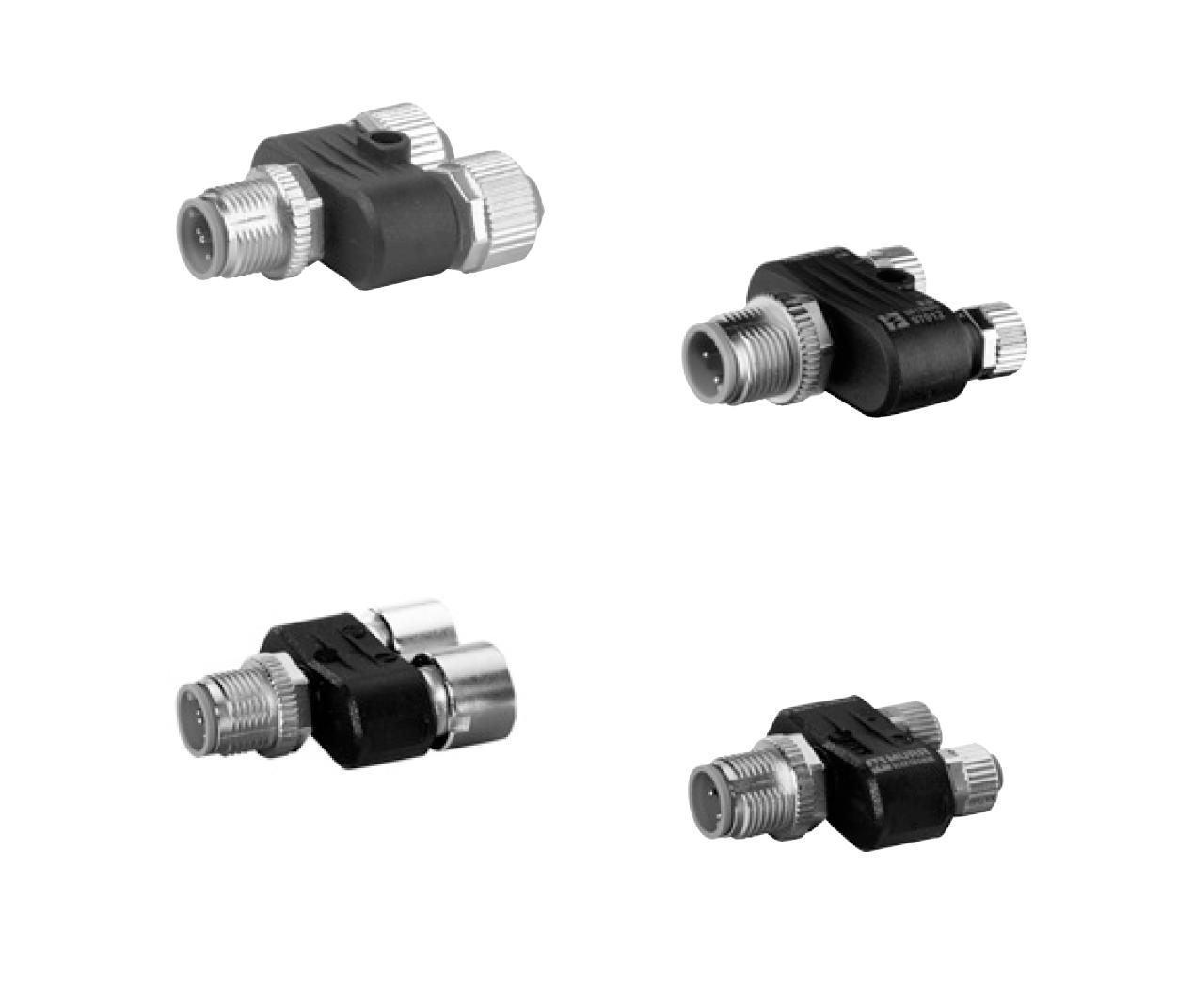 T-образные разветвители | Вилка М12/Розекти М8/М12 | Murrelektronik