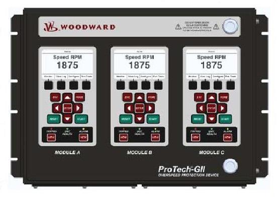 WOODWARD ProTech-GII контроллер
