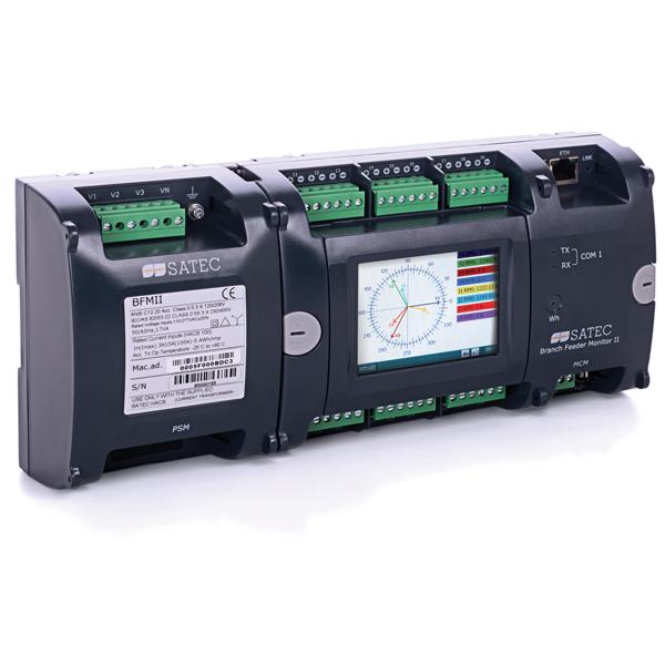 SATEC Многоканальный счетчик и контроллер BFM II