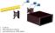 РОССИЙСКОЕ ПРОИЗВОДСТВО Знакосинтезирующий индикатор CCD CD-RS422-PM-07 BOX