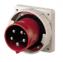 MENNEKES Приборные вилки - панельного монтажа с термостойкими держателями контактов и никелированными контактами 16А-125А, IP44-67